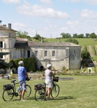 cycling in Cognac Country