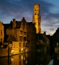 Bruges cycle barge tours Flanders