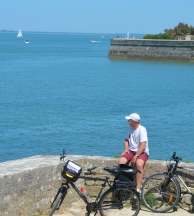 France Atlantic Coast Ile de Re Cycling