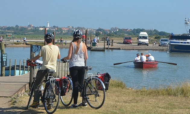 cycling suffolk coast walberswick